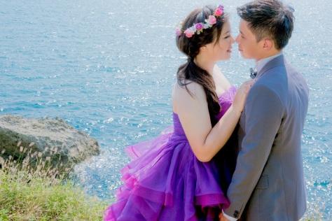 海邊婚紗照-高雄婚攝MAC美克