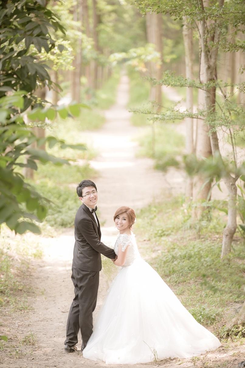 森林系婚紗攝影-婚攝MAC